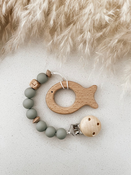 Wooden Teether | Fish