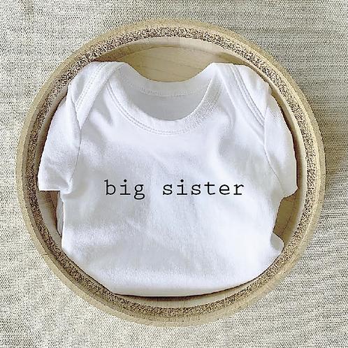 Big Sister Onesie
