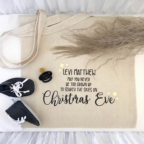 Personalized Christmas Eve Sack