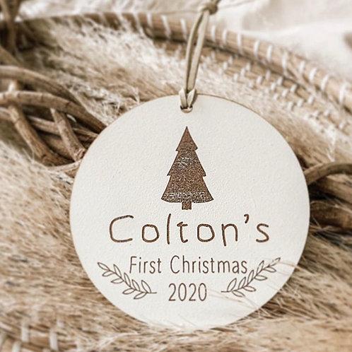 My Fist Christmas Disc | Christmas Tree