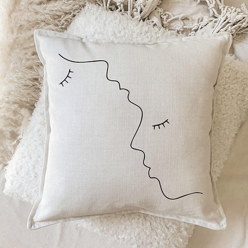 Cushion | Interlocked in Love