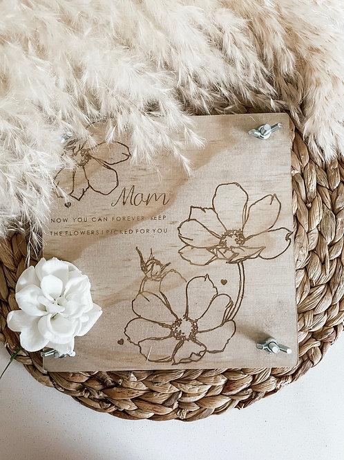 Personalized Flower Press