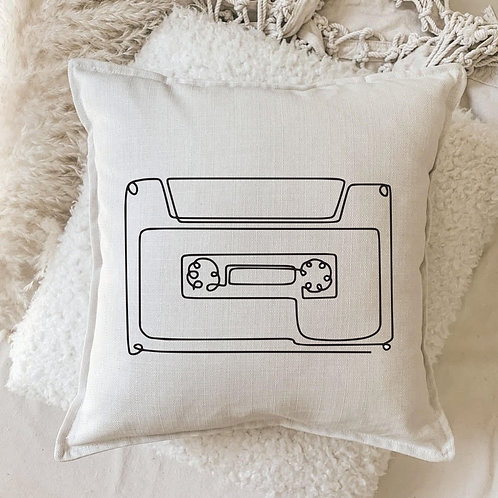 Cushion | Retro Tape