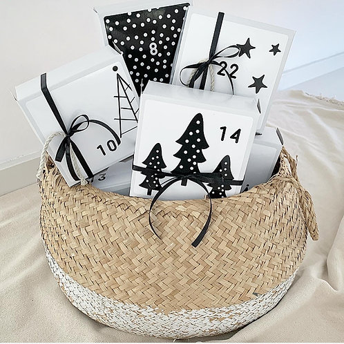 Countdown to Christmas Gift Boxes