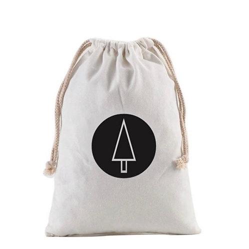 Personalized Gift Sack | Minimalist Tree
