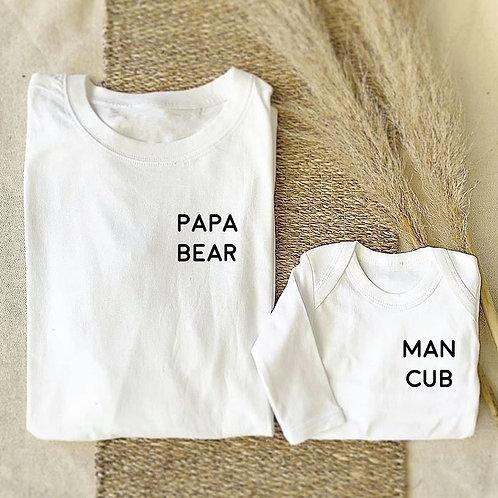 Man Cub Onesie / Tee