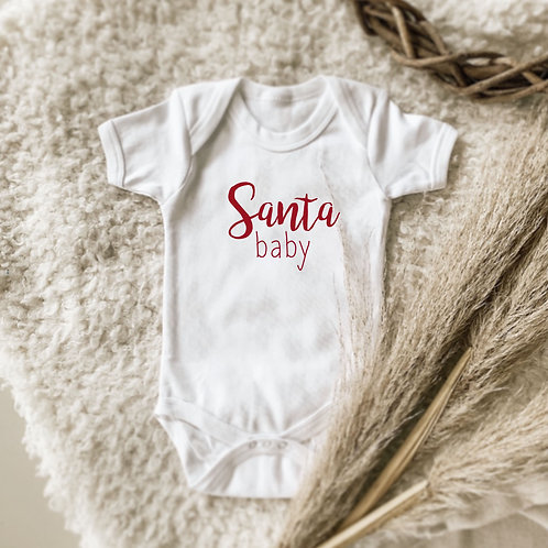 Santa Baby Onesie | Tshirt