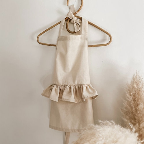 Kids Couture Cotton Apron | Option to Personalize