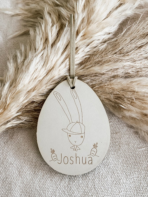 Personalized Wooden Tag | Forrest