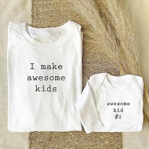 Awesome Kid Onesie / Tee