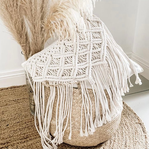 Macrame Scatter Cushion