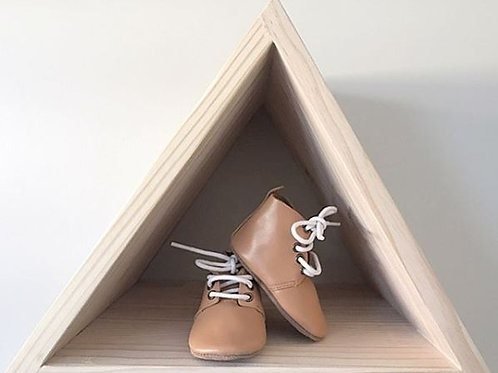 Small Floating Triangle Wall Shelf