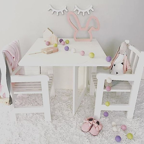 Wooden Fold Out Toddler Table