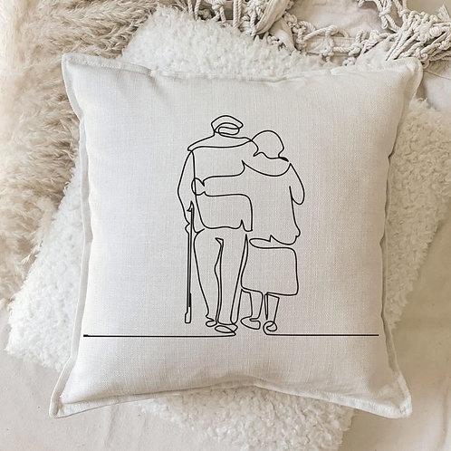Cushion | Walking Side by Side