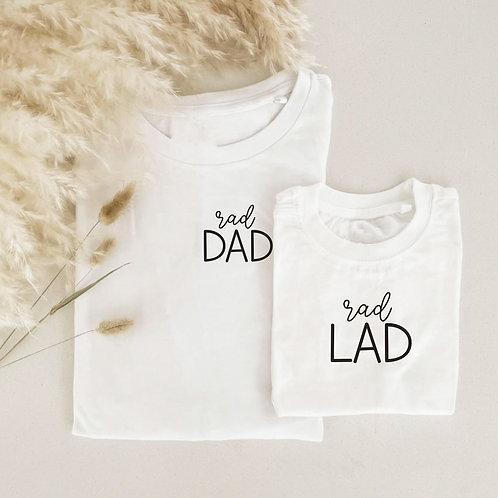 Rad Lad Onesie / Tee