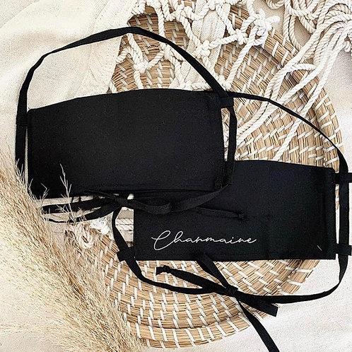Black Tie Mask