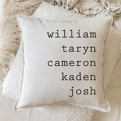 Cushion | My People Pillow