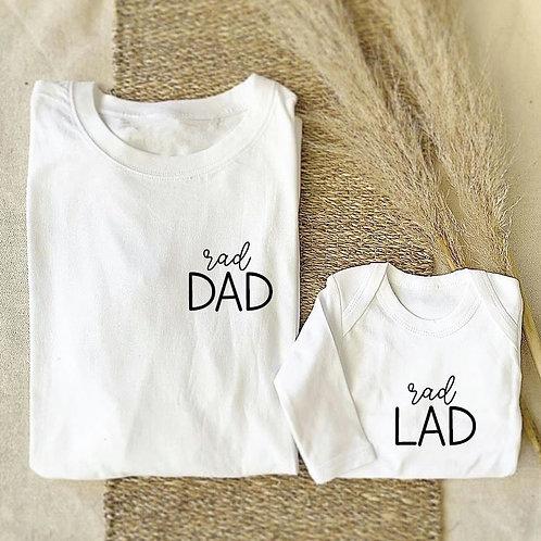 Rad Dad Long Sleeve Tshirt
