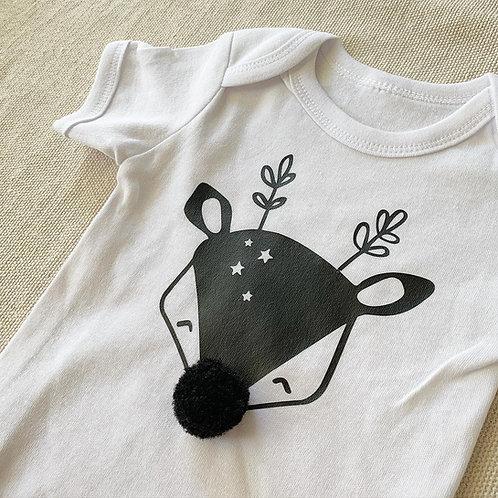 Reindeer With Pom Pom Nose