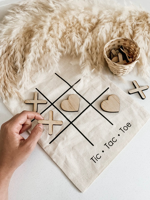Tic Tac Toe | Wooden Game