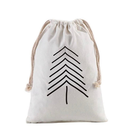 Personalized Gift Sack | Modern Tree