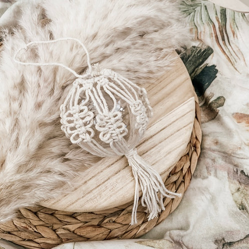 Macrame Tree Decoration | Ball 1