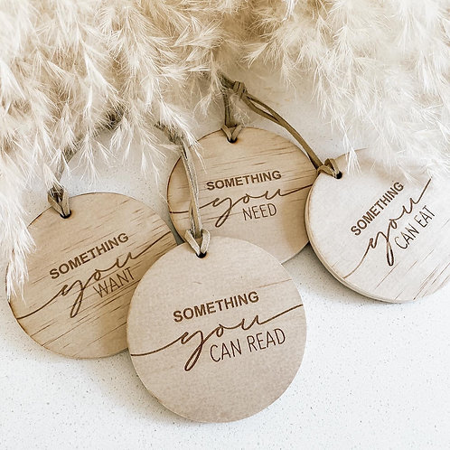 Something you... Gift Tags   Set of 4