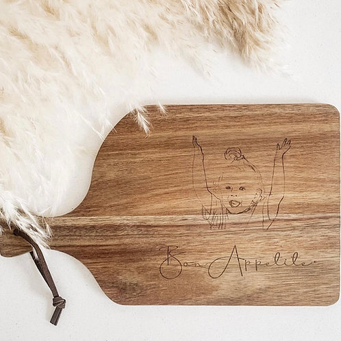 Personalized Cheese Board | Your Design Etched Here