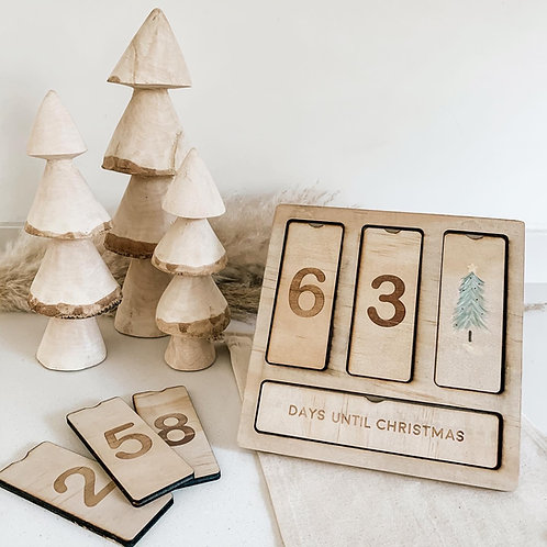 Countdown Board | Christmas Theme