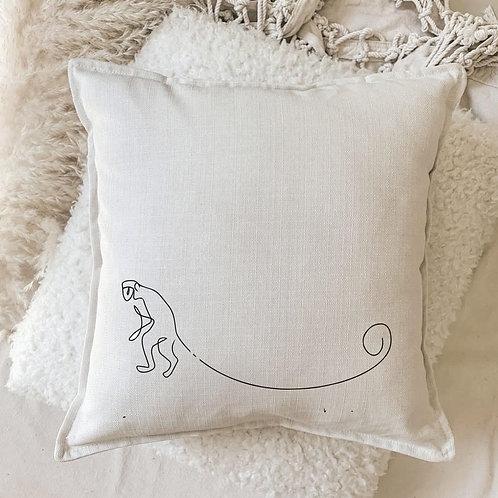 Cushion | Minimalistic Monkey