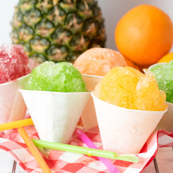 Tween Snow Cones and Paint Party