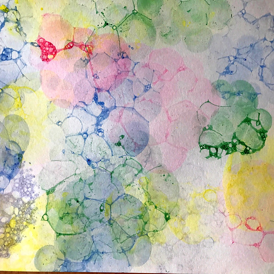 Bubble Painting!