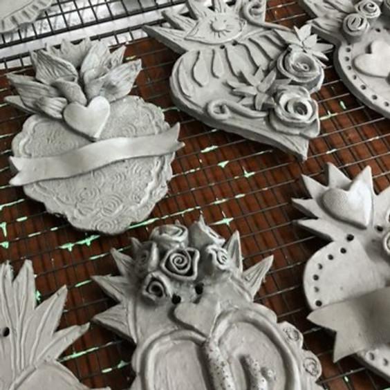 Dia de los Muertos- ceramics workshop