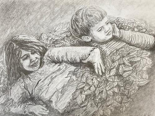 Commission a Portrait (Graphite)