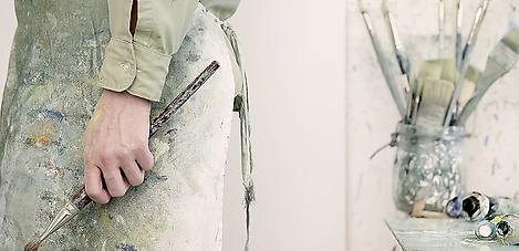 Artist Holding a Paintbrush.webp