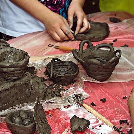 Kids Pottery Building Workshop