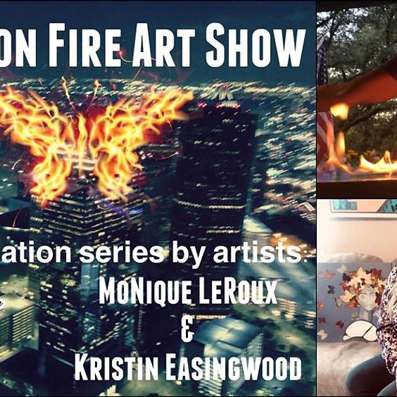 Wings on Fire Art Show