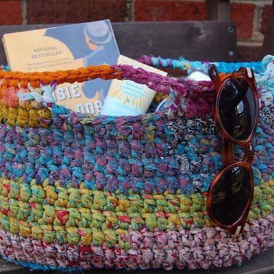 Knit/Crochet Market Tote Class Series