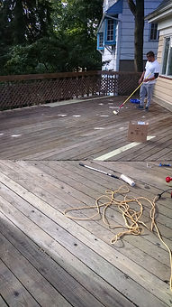 Weathered Deck- Before