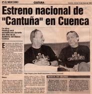 Cantuña, el musical - Diario El Mercurio