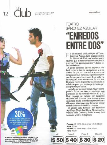 Enredos, Club