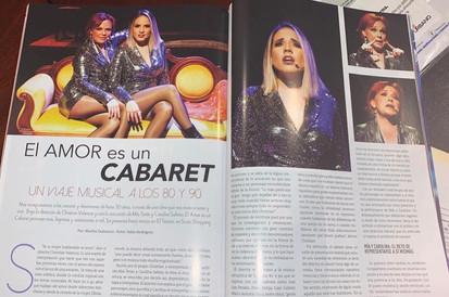 El Amor Es un Cabaret revista Cosas 1