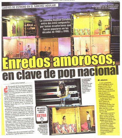 Enredos, El Extra