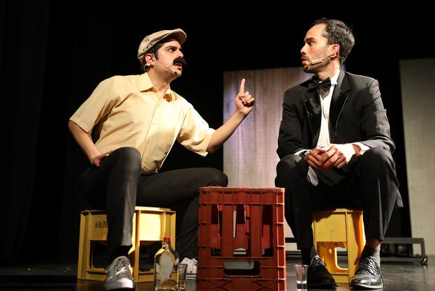 Emilio Reyes y Joaquín González