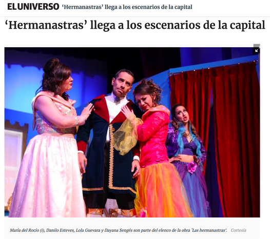 Hermanastras, el musical - Diario El Universo