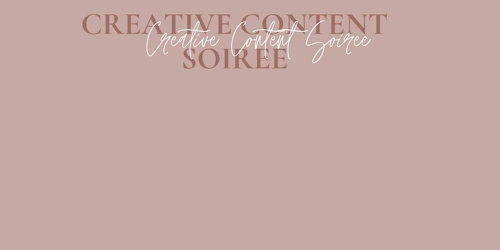 Creative Content Soiree