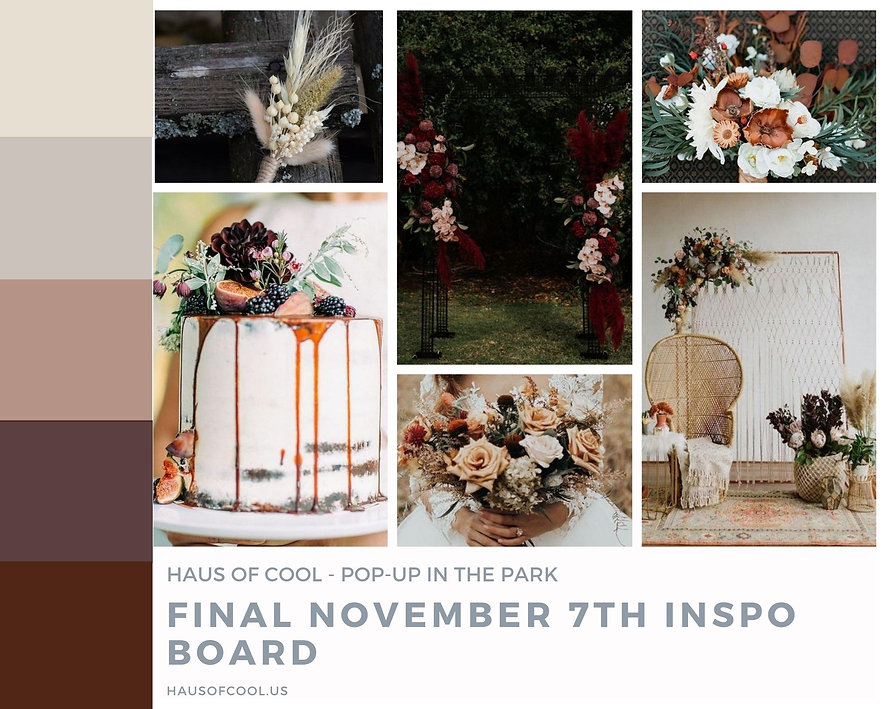 Haus of Cool - Pop-up In the Park Septem