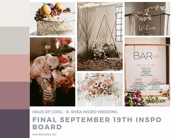 Haus of Cool - Micro Wedding R. Shea Bre