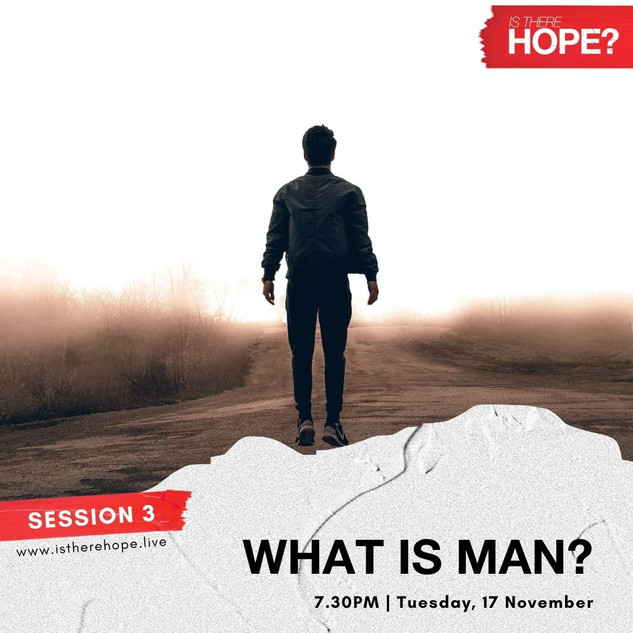 Is There Hope - Session 3