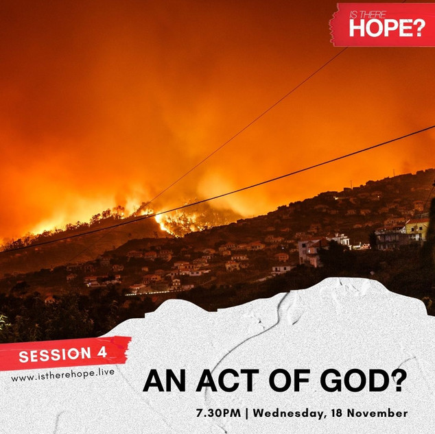 Is There Hope - Session 4